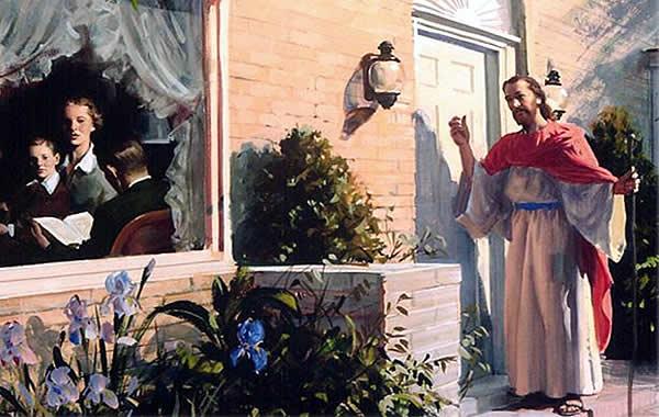 Abra as portas para Jesus em seu lar.  Estude o Evangelho Segundo o Espiritismo em família.